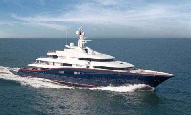 Oceanco 88,5m superyacht Nirvana