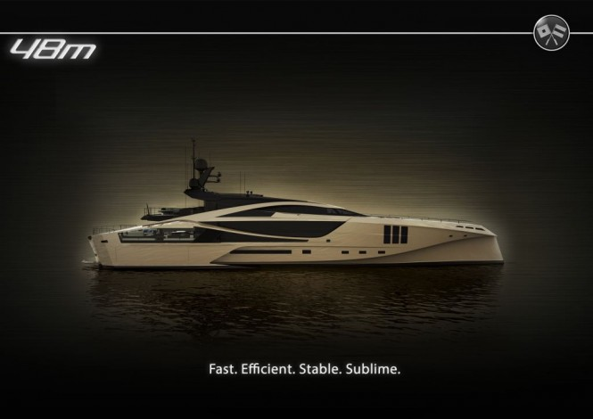 48m SuperSport Series motor yacht by Palmer Johnson