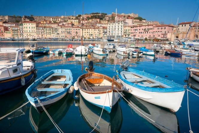 Portoferraio in Elba, Italy