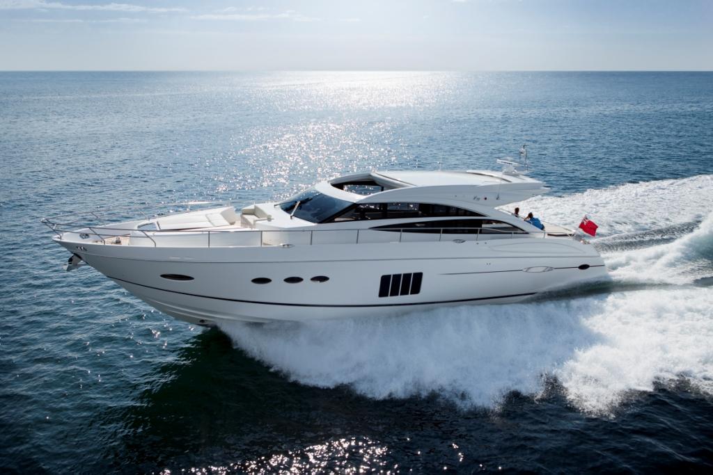 Princess Motor Yacht V72 Running Yacht Charter