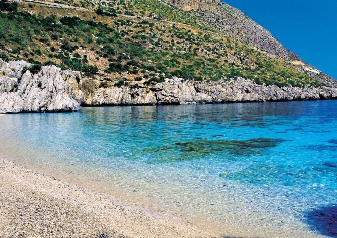 Pristine waters of Sicily