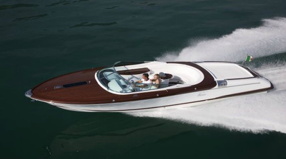 Riva Aquariva yacht tender by Gucci
