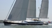 52m Alloy sailing yacht Mondango - Image courtesy of Dubois Naval Architects