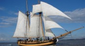Sailing yacht HMS Pickle