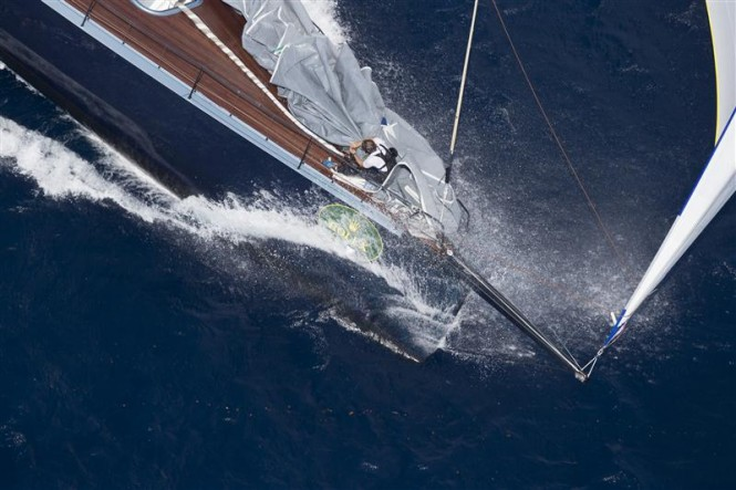 Sailing yacht Highland Fling - Photo By Rolex - Carlo Borlenghi