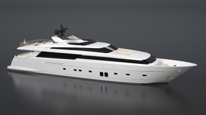 Sanlorenzo luxury motor yacht SL118