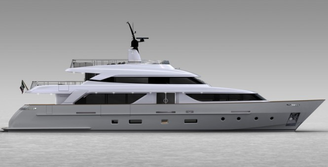 Sanlorenzo motor yacht SD 110