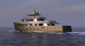 Sergio Cutolo designed MONDO 45 superyacht for Mondo Marine