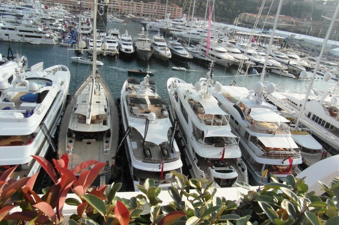 Spectacular luxury yachts at the 2012 MYS