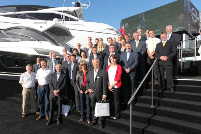 Sunseeker International Ltd's Supplier of the Year Awards 2012