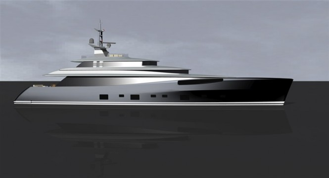 Superyacht 379 designed by Dubois