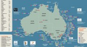 The new Superyacht Australia Pocket Map