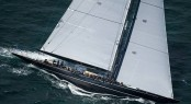 Superyacht Lionheart - a Winner of the 2012 Kings Hundred Guinea Cup at the J Class Solent Regatta.