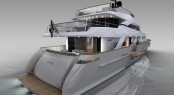 Superyacht SD110 - rear view