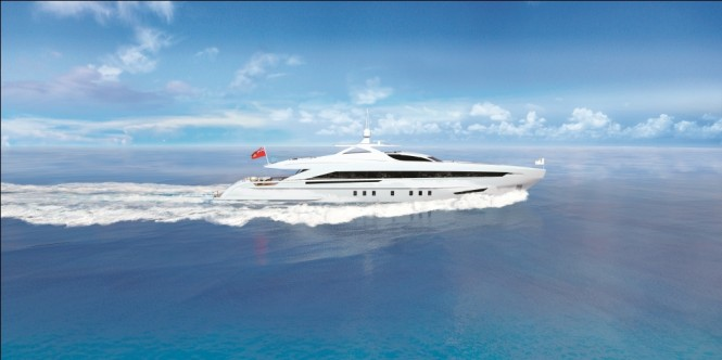 The Heesen 45m superyacht
