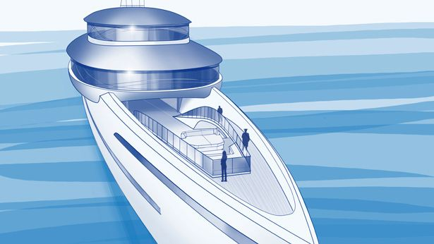 The Infinity Path on Feadship  Future Concept 'Relativity'
