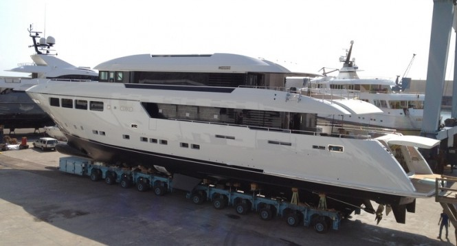 The latest Mondo Marine launch - motor yacht OKKO