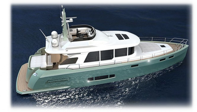 The new NISI 1700 superyacht by NISI Yachts
