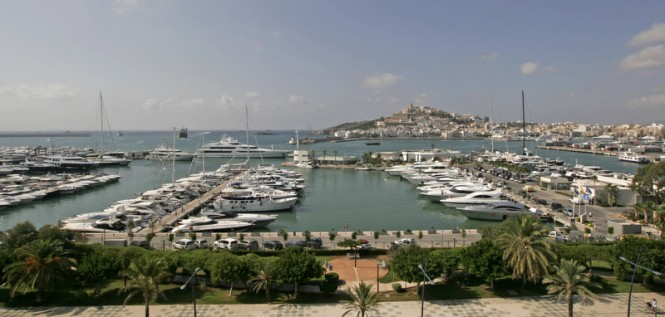 The prestigious Mediterranean superyacht marina - Marina Ibiza