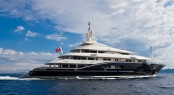 The stunning 70m Rossinavi superyacht HIGH POWER II (ex Numptia)