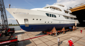 YN194 superyacht SOFIA launched by Moonen