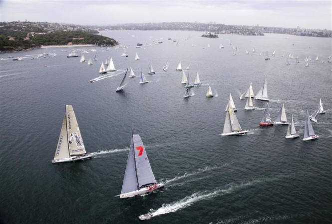 2011 Rolex Sydney Hobart Yacht Race Start - Photo by Rolex Daniel Forster