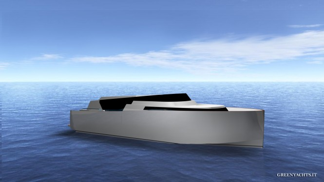 33 Limousine Hybrid yacht tender concept by Green Yachts