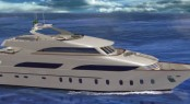 35m superyacht Eugenio by Bertolini Construction's Beconal Shipyard