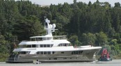 39m expedition yacht CaryAli built by Alloy Yachts and managed by MCM