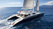44-metre Pendennis catamaran yacht Hemisphere with naval architecture by VPLP