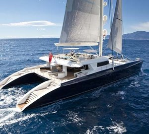 The top ten largest catamarans for charter