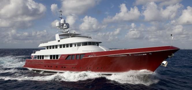 46-metre Marco Polo superyacht Mazu