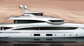 51m Heesen superyacht Project Paloma (YN 16551) - Photo by Heesen Yachts courtesy of Omega Architects