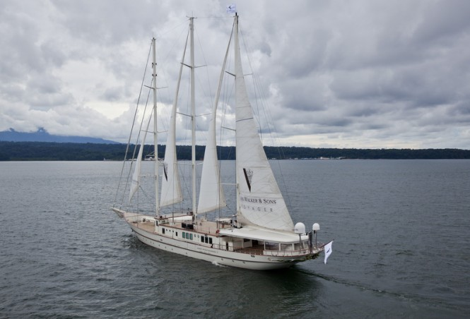 57m three-masted sailing yacht Montigne