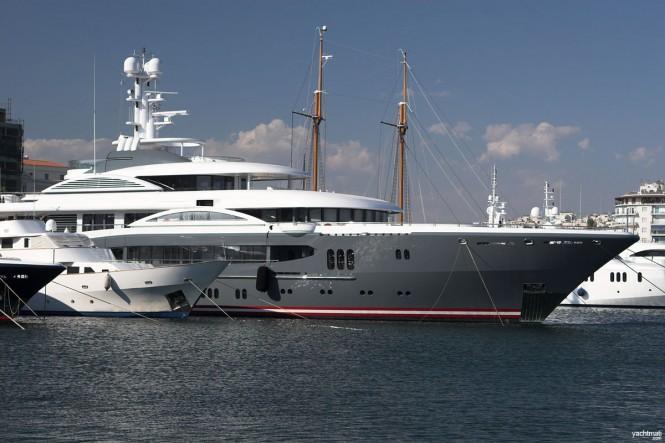 68m Lurssen megayacht KISMET - Image by YachtMati