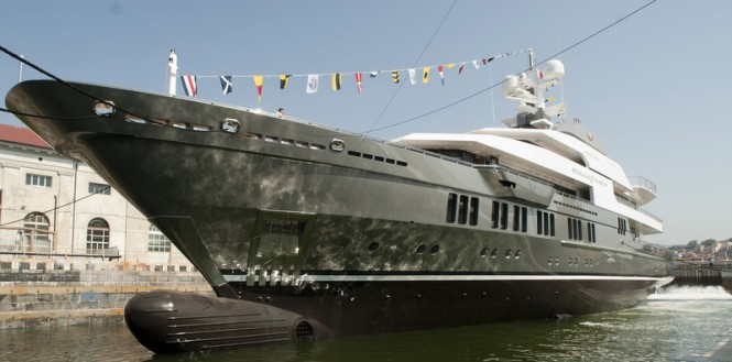 72m megayacht Stella Maris by VSY-Viareggio Superyachts at launch