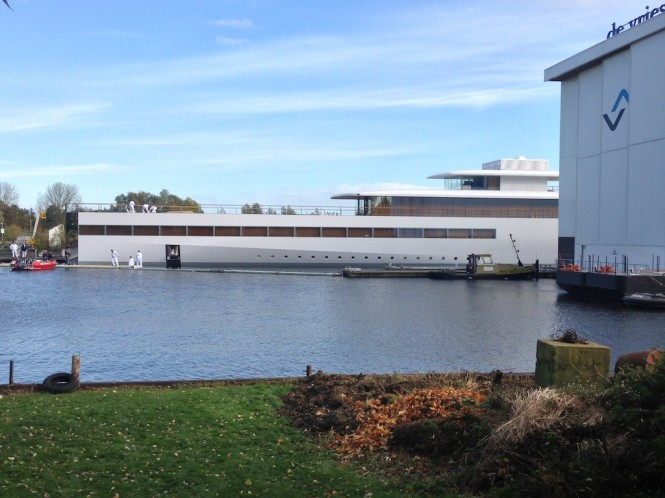 78m Steve Jobs yacht VENUS - Photo courtesy of OneMoreThing.nl