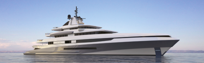88m HELIOS yacht by Axis - Horacio Bozzo Design for Benetti Design Innovation Project