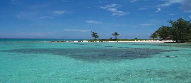 A popular yacht charter destination - the Cayman Islands
