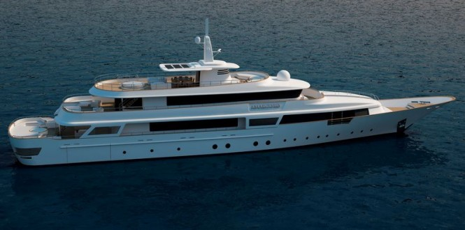Amarcord 56 superyacht project