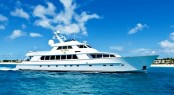 Another beautiful motor yacht designed by Sparkman Stephens - luxury charter yacht El Jefe