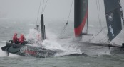 Artemis Racing competing in ACWS San Francisco
