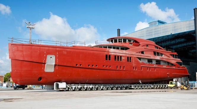 Benetti motor yacht Hull FB265