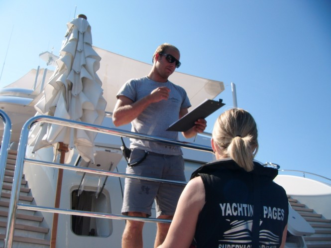 Captains and crew were happy to offer reviews and testimonials to Yachting Pages