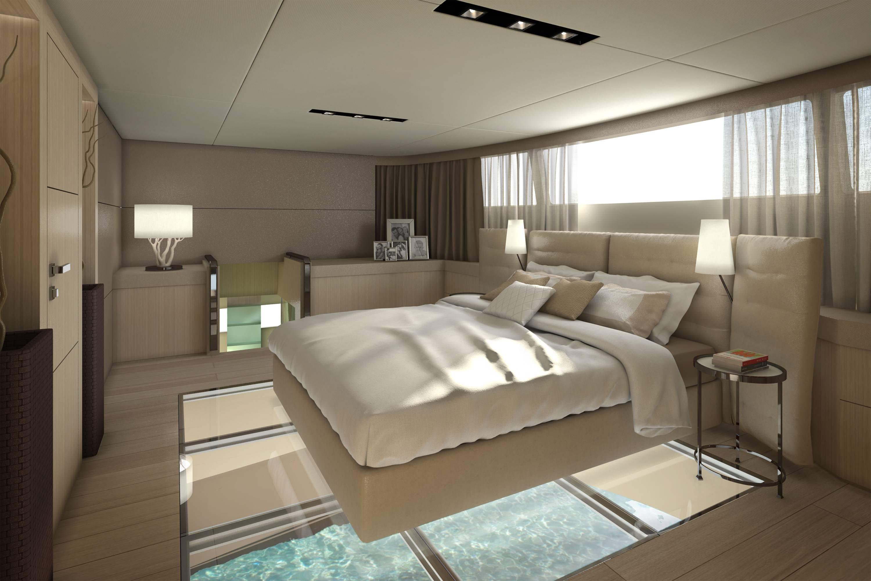 Catamaran yacht picchio boat master 39 s cabin yacht for Bateau de luxe interieur