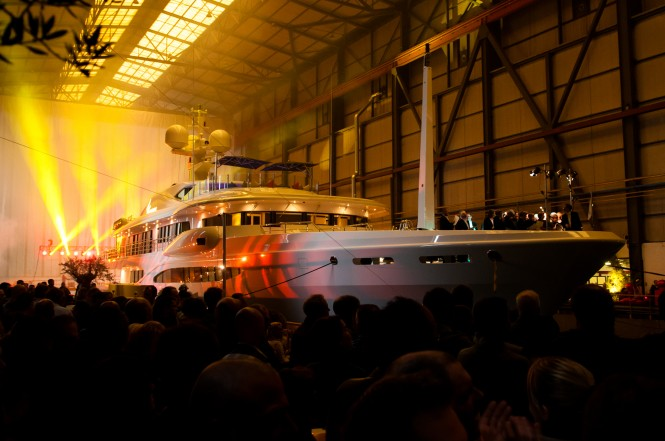 Christening of the Amels superyacht Sea Rhapsody (hull 6502) - Photo credit Amels Arthur Lavooy