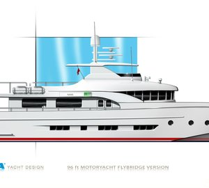 The latest DIANA Blu Yacht in Coupe version