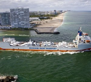 South Florida to welcome precious cargo of Luxury Yachts transported by Dockwise Yacht Tranport (DYT)