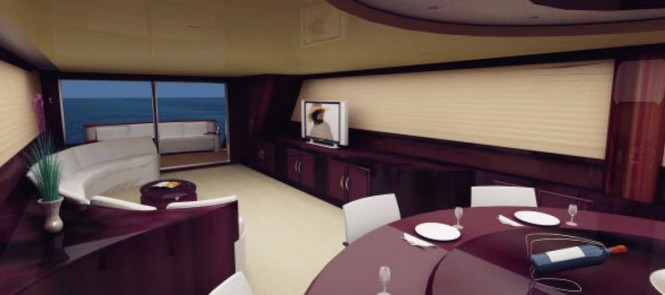 Eugenio superyacht - Interior
