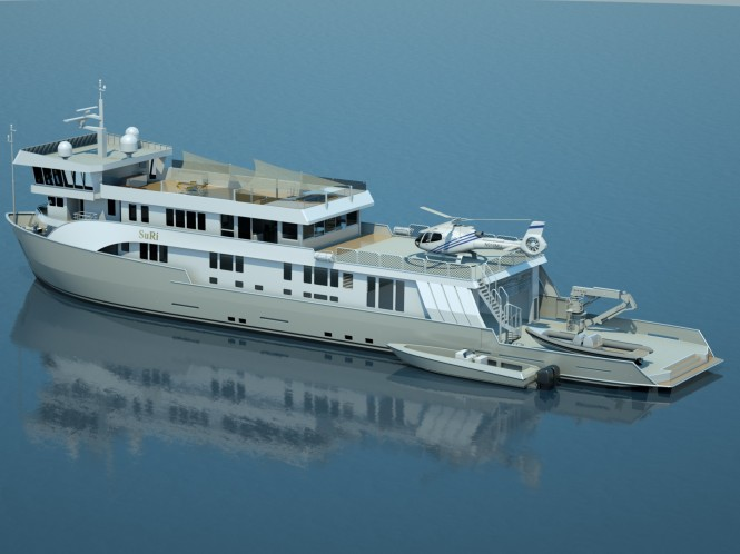 Expedition Charter Yacht SuRi